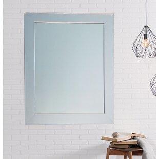 Best Price Modern American Chrome Wall Mirror ByBrandt Works LLC