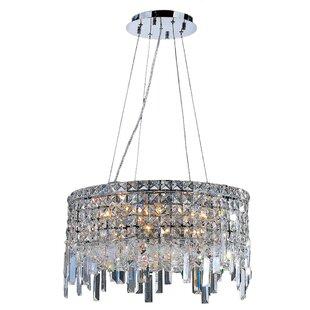 Anjali Modern 12-Light Chandelier ByWilla Arlo Interiors