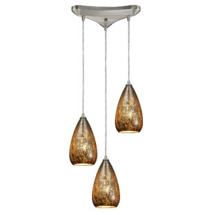 Marnie 3-Light Pendant by Bloomsbury Market