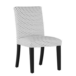 Bye Polka Dot Upholstered Dining Chair Wrought Studio