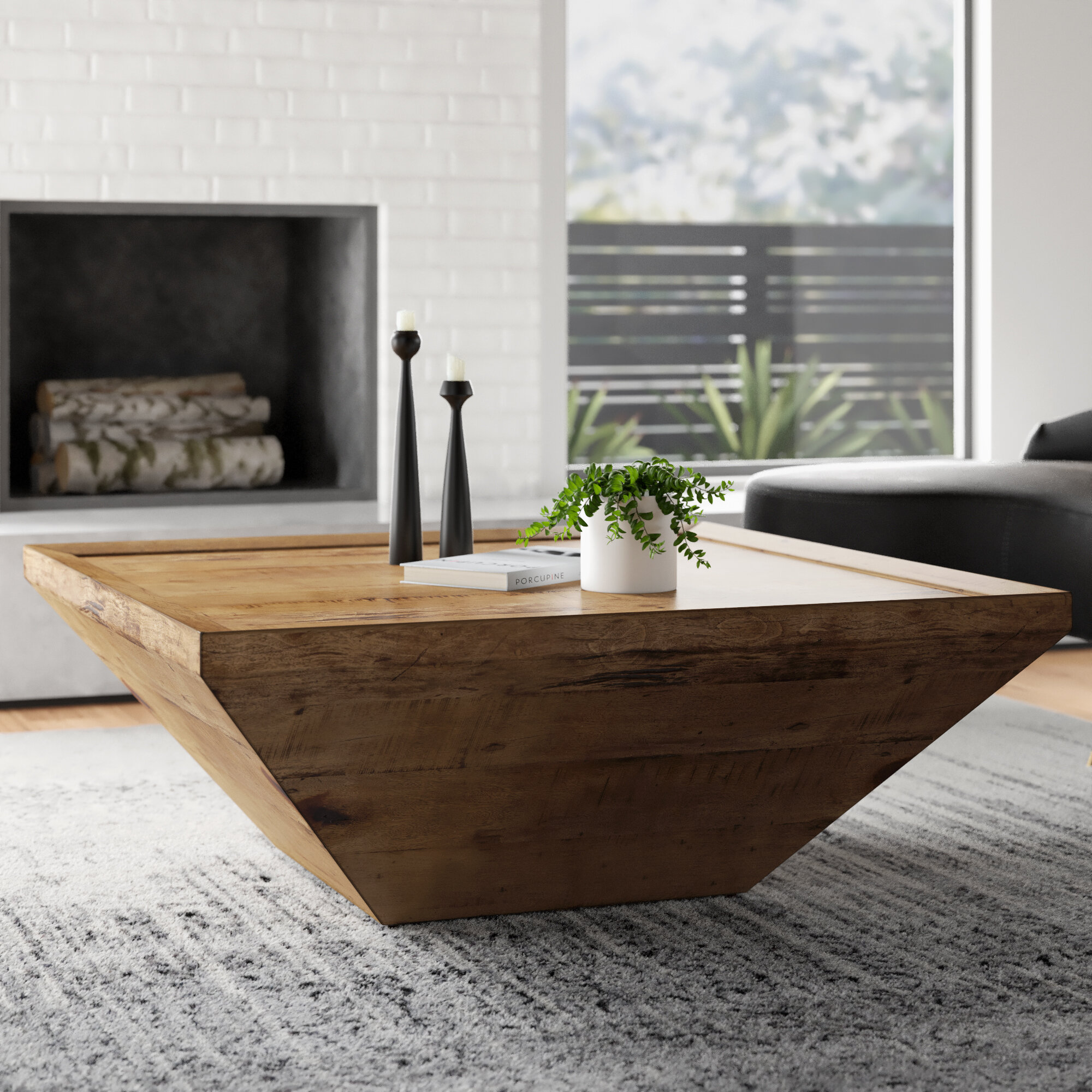 Modern Solid Wood Coffee Tables Allmodern