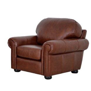 Westland and Birch Heath Leather Club Chair