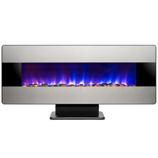 3-in-1 Wall Mounted Electric Fireplace by AKDY