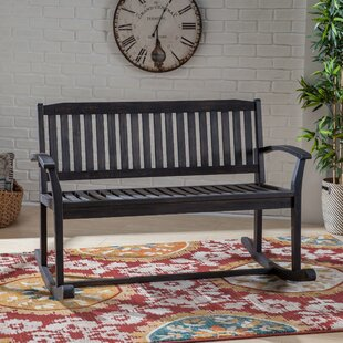 Candleick Rocking Bench by August Grove