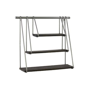 Georges Metal Rectangular Wall Shelf
