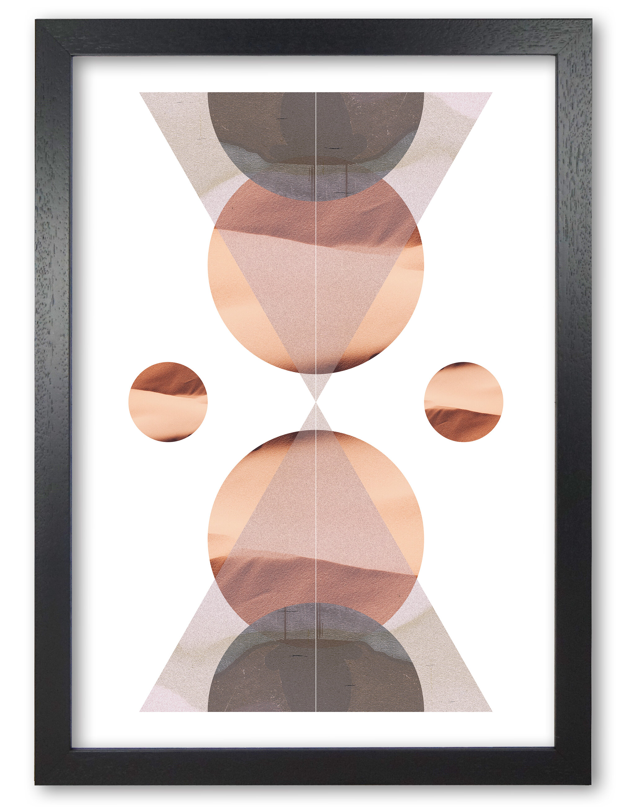 East Urban Home Abstract Sandstorm 1 Picture Frame Graphic Art Print On Paper Wayfair Co Uk