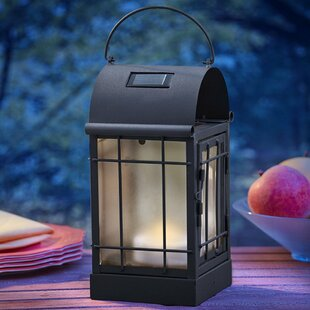 Moonrays Arched 2-Light LED Outdoor Hanging Lantern