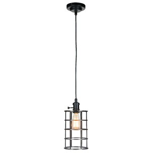Breakwater Bay Alford 1-Light Cylinder Pendant