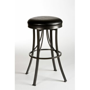 Melancon 26 Swivel Bar Stool Winston Porter