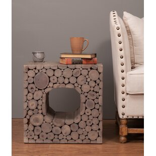 Vegard End Table by Union Rustic