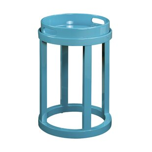 Maurice Round End Table by Lat..