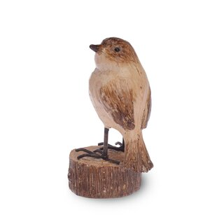 Faleseu Bird Home Head Turned Figurine Set Of 2