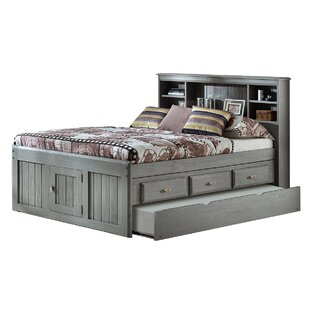 Harriet Bee Garry Full Mate's & Captain's Bed with Drawers and Trundle