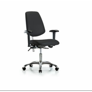 Symple Stuff Amelie Desk Height Ergonomic Office Chair
