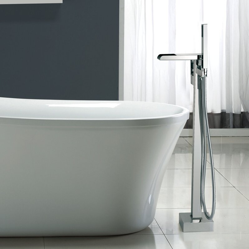 Infinity Floor Mounted Tub Faucet