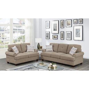 Adron 2 Piece Standard Living Room Set by Red Barrel Studio