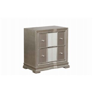 Lobos 2 Drawer Nightstand