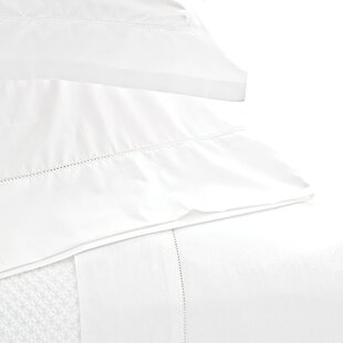 Pine Cone Hill Classic Hemstitch 400 Thread Count 100% Cotton Sheet Set