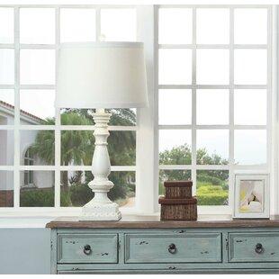 Zechariah Cottage Studded 32 Table Lamp