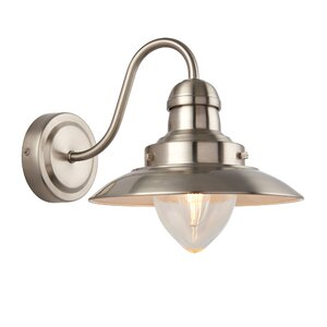 Mendip 1 Light Flush Wall Light