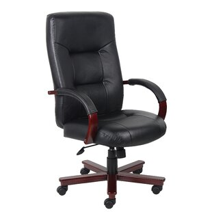 Passarelli Genuine Leather Executive Chair