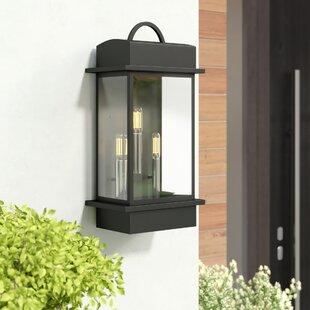 Bloomsbury Market Datura 3-Light Outdoor Wall Lantern