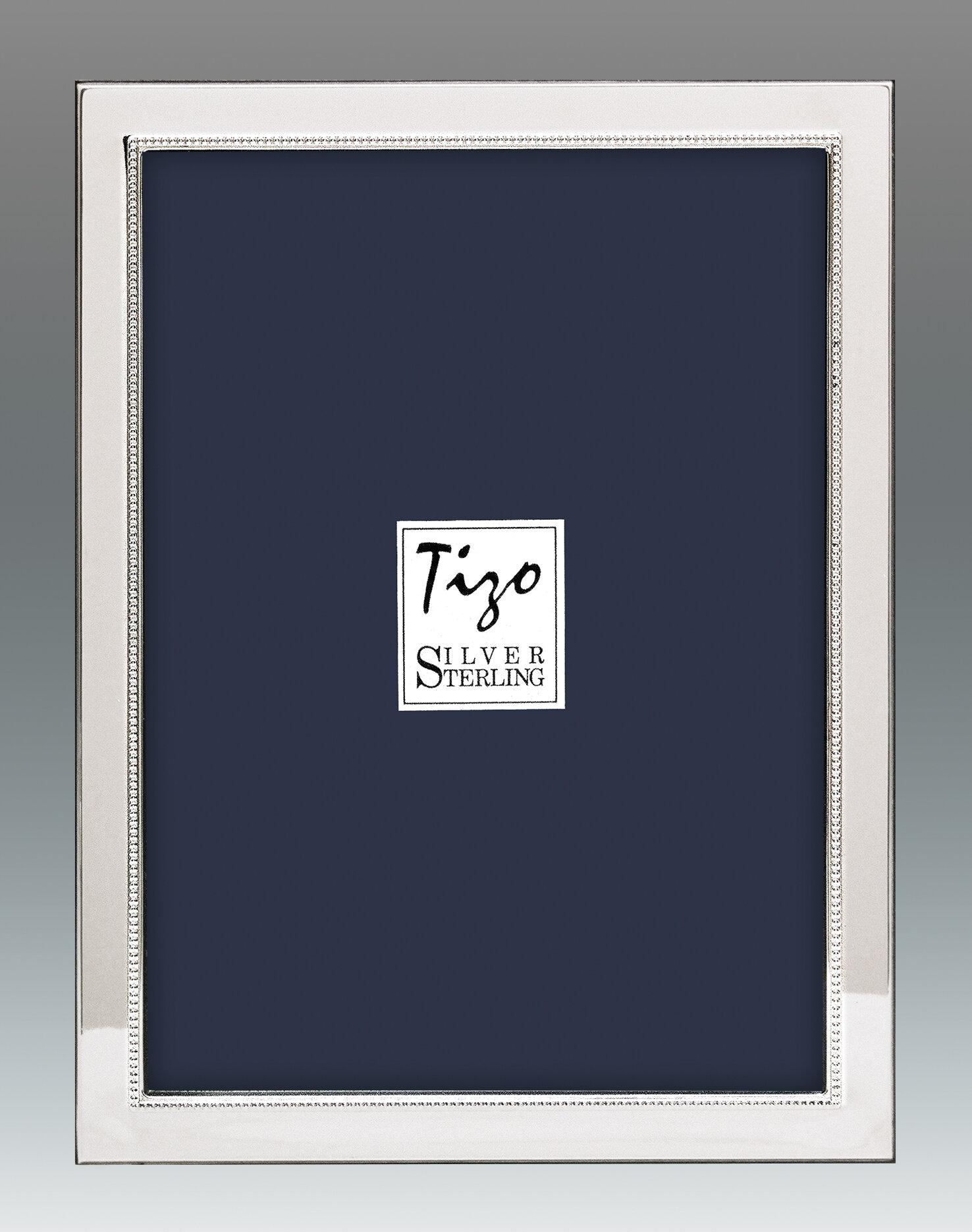 Tizo Narrow Inner Sterling Picture Frame Wayfair