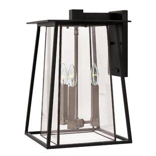 Hinkley Lighting Walker 3-Light Outdoor Wall Lantern