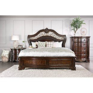 Fleur De Lis Living Caulfield Transitional Panel Bed