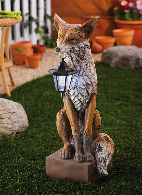 Friendly Fox Statue