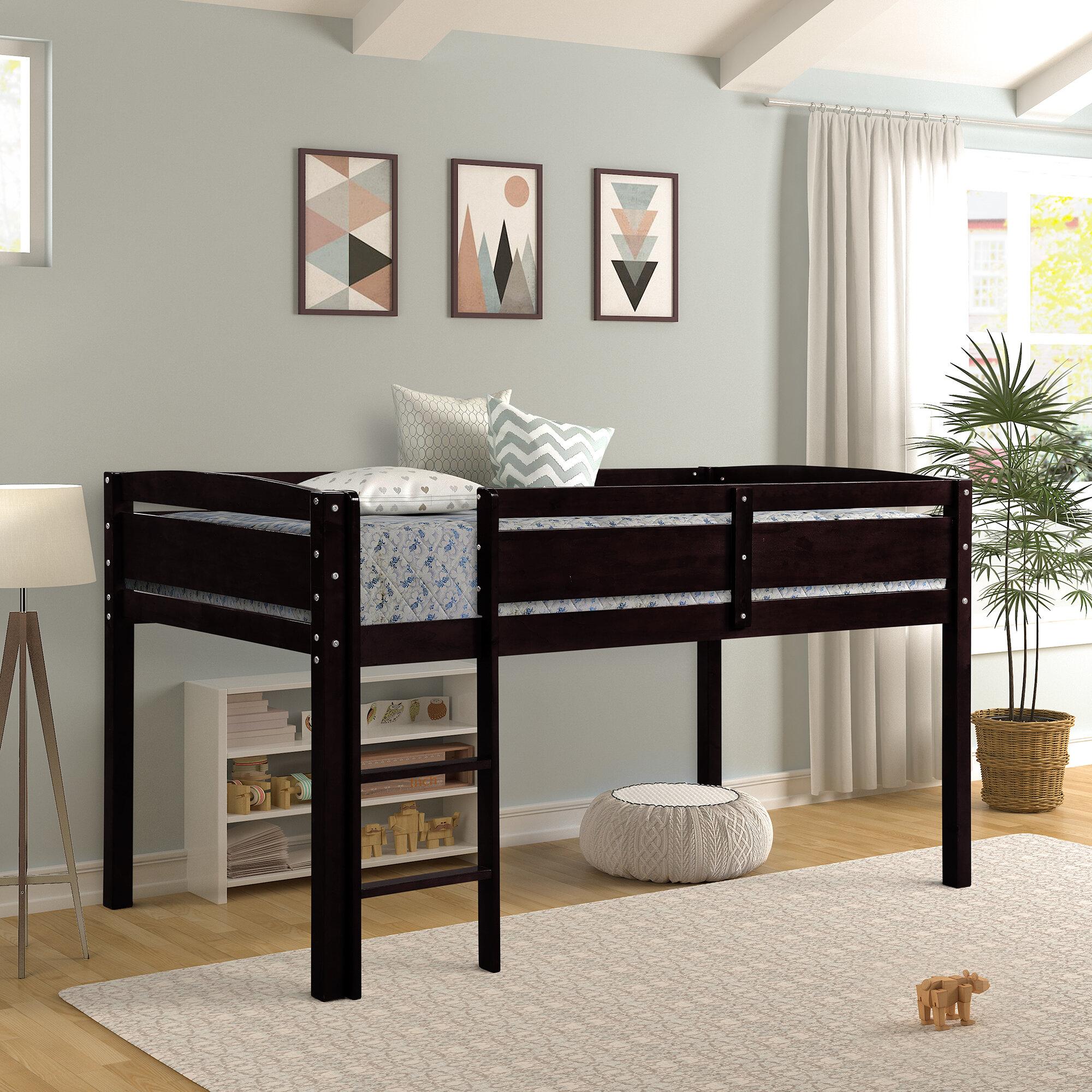 Harriet Bee Wrenshall Twin Loft Bed Wayfair