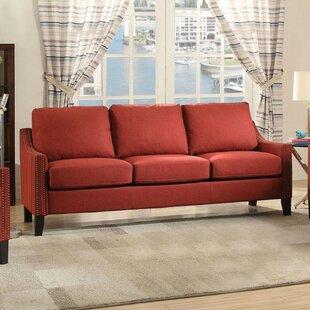 Charlton Home Roser Wooden Sofa