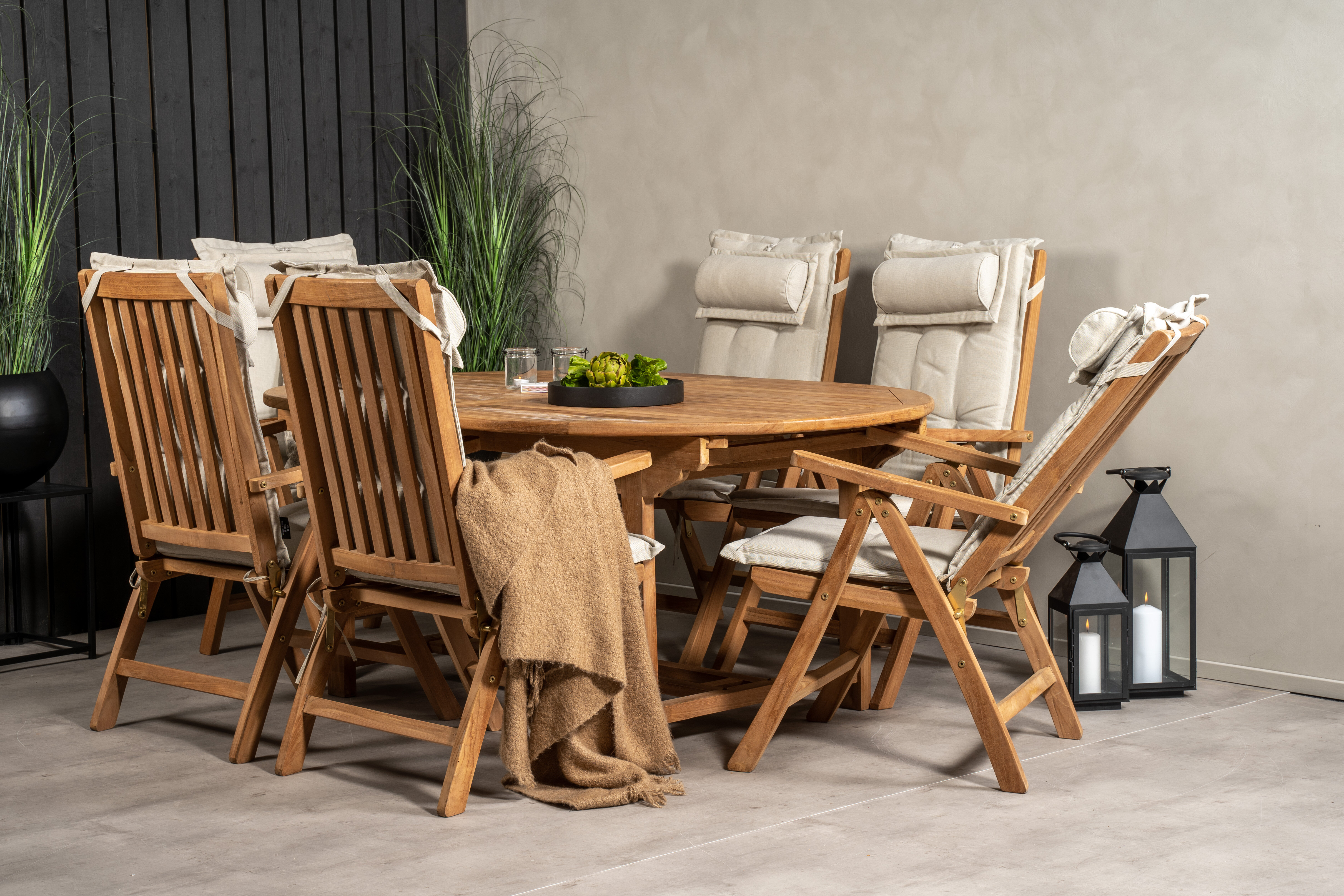 Dakota Fields Baek 6 Seater Dining Set With Cushions Wayfair Co Uk