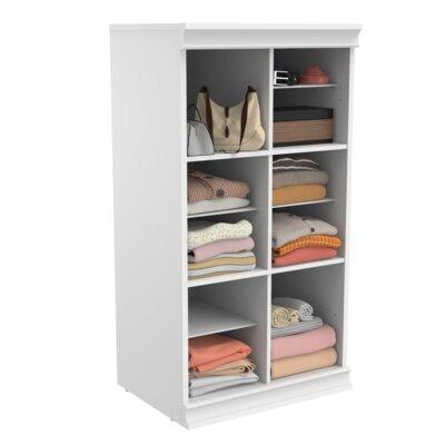 "ClosetMaid Modular Storage 21.38"" W Divided Shelf Unit"