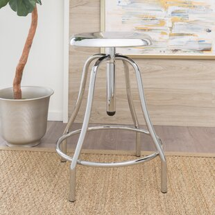 Lisson Adjustable Height Swivel Bar Stool Williston Forge