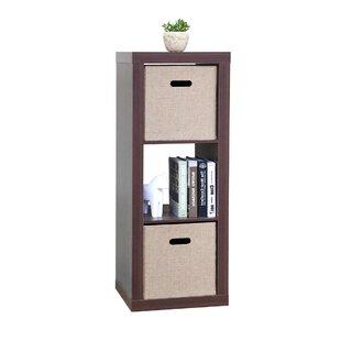 Sascha Stackable Standard Bookcase Ebern Designs