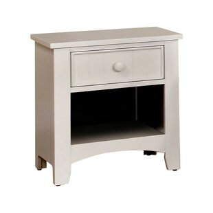 Price comparison Reaves Wood 1 Drawer Nightstand by Charlton Home