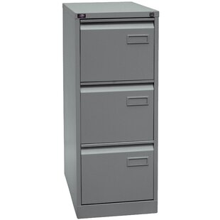 Review Light 3 Drawer Filing Cabinet