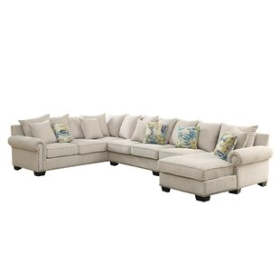 Diann Ceramics Sectional by Canora Grey New