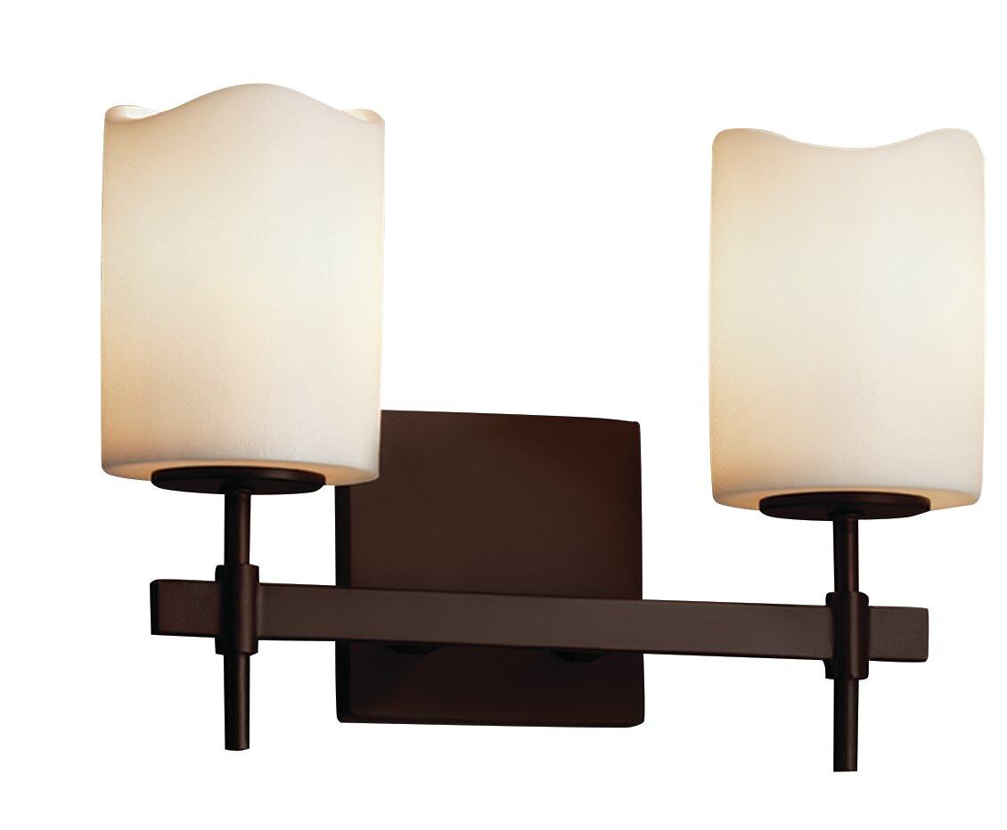 Loon Peak Burdette 2 Light Vanity Light Wayfair