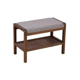 Patty Padded Upholstered Bench by Winston Porter