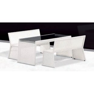 100 Essentials Palace 3 Piece Dining Set