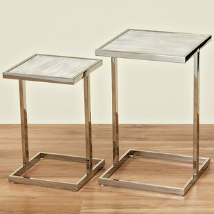 Affordable Price Beach 2 Piece End Table Set by Whole House Worlds