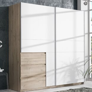 Absarokee Sliding Door Wardrobe By Ebern Designs