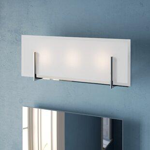 Price comparison Ashlyn 3-Light LED Bath Bar By Wade Logan