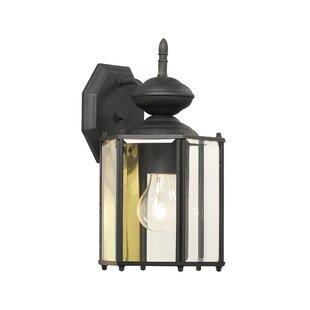 Whitestown 1-Light Outdoor Wall Lantern by Charlton Home