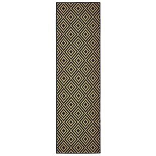 Cranbrook Casual Black Indoor/Outdoor Area Rug