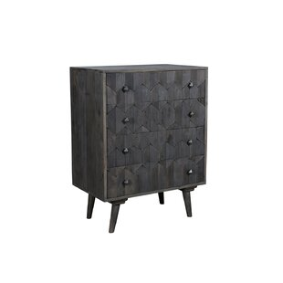 Dussault 4 Drawer Accent Chest by George Oliver