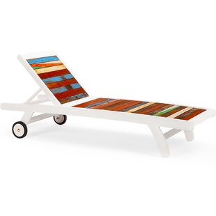EcoChic Lifestyles Second Wind Sun Bed Chaise Lounge