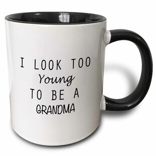 Lucchesi I Look Too Young to Be a Grandma Coffee Mug
